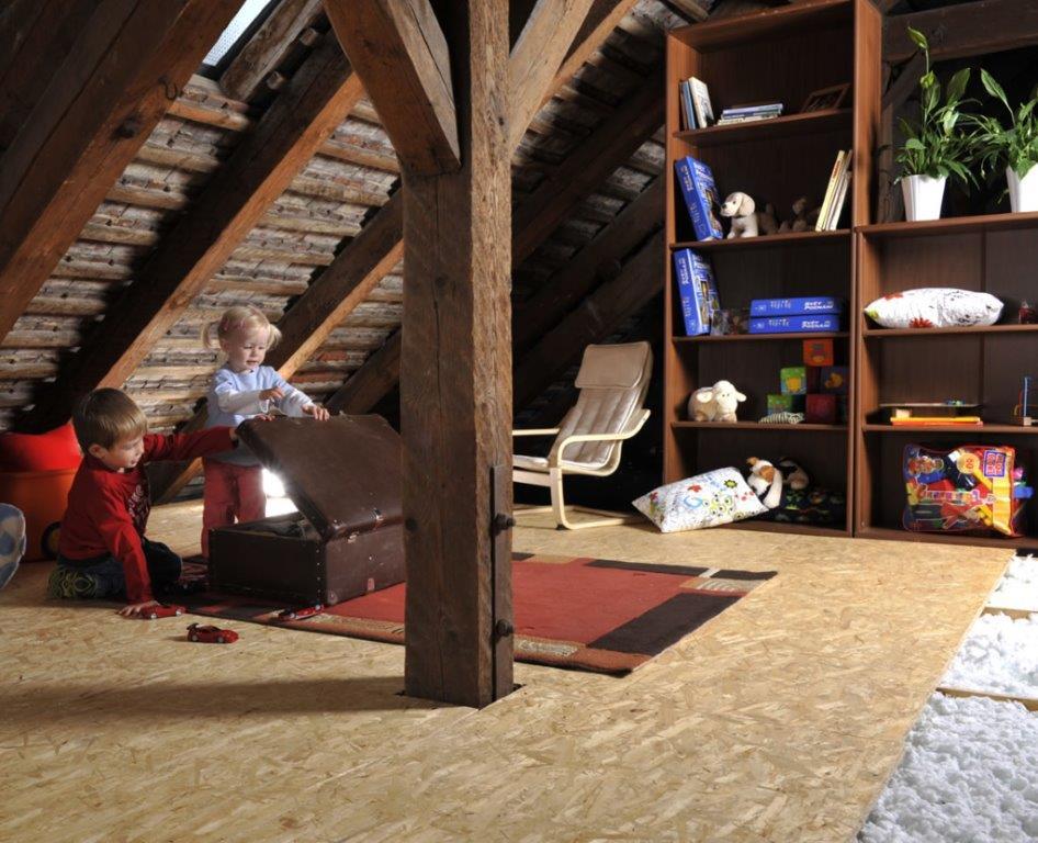 Stropní systém MAGMARELAX - tajný bunkr pro děti