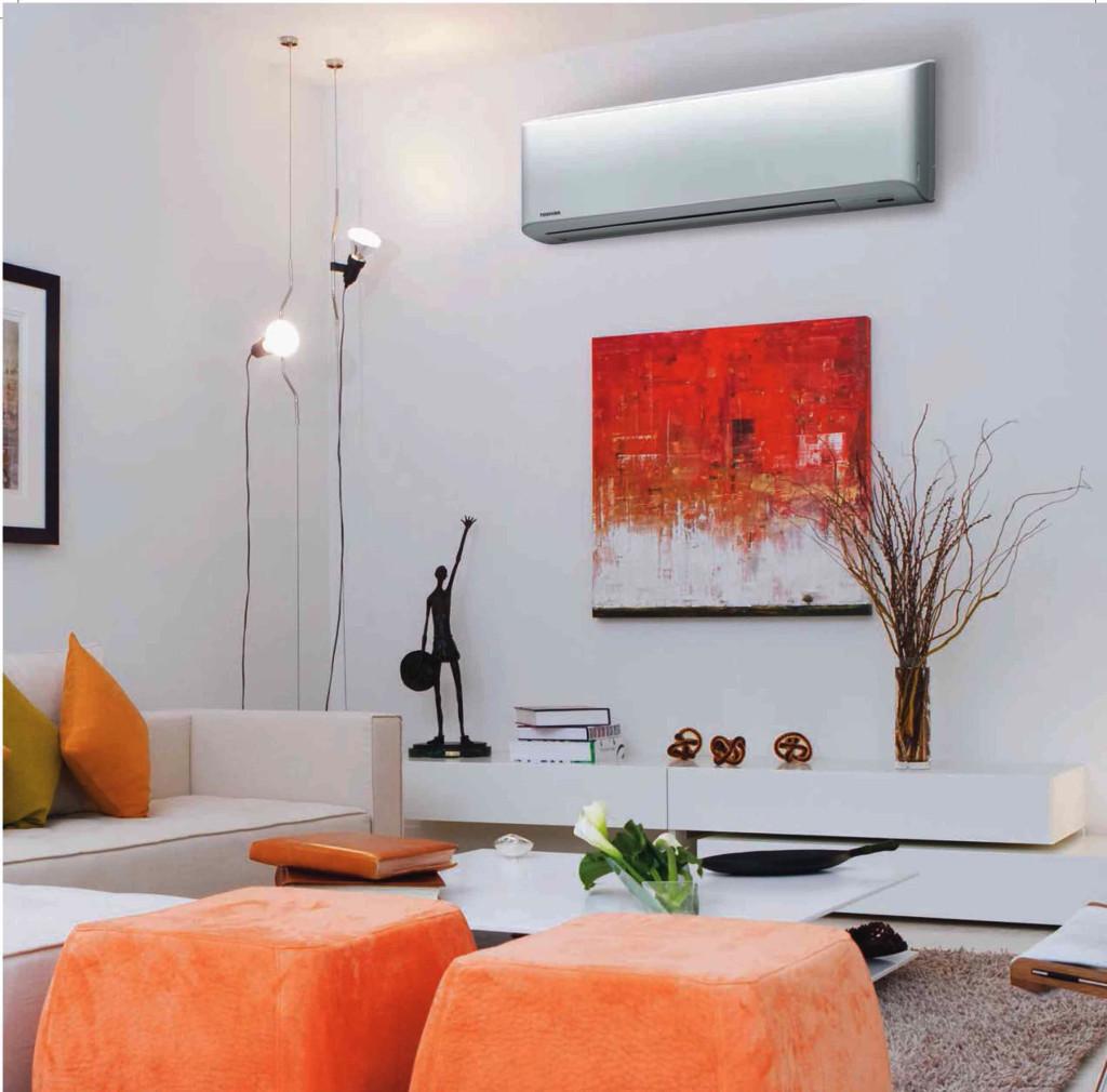 Nastenna klimatizace Toshiba zdroj aircon