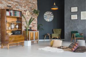 Útulný obývací pokoj ve třech krocích Creative Commons (shutterstock.com)
